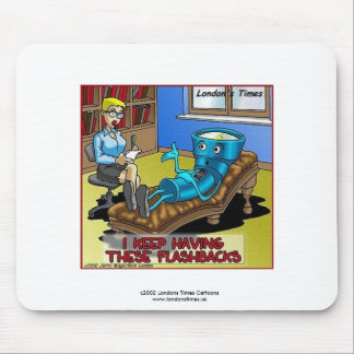 Funny Psychiatry Mouse Pad