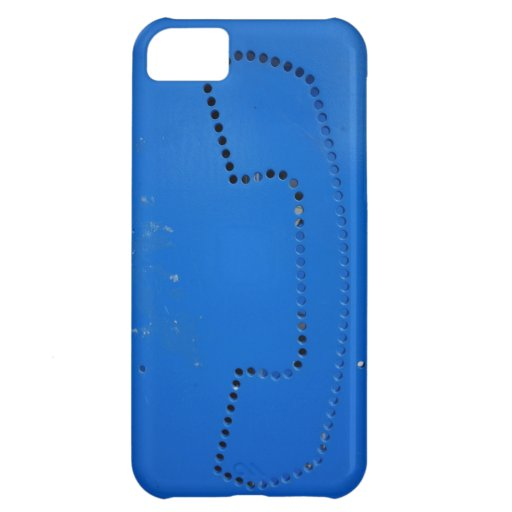 Funny Public Pay Phone Booth Silhouette iPhone 5C Covers