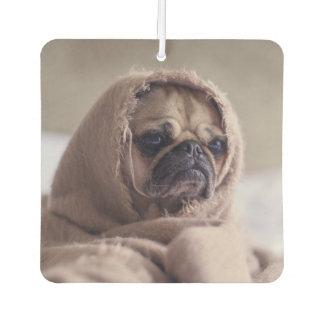 Funny Pug Dog air freshner Car Air Freshener