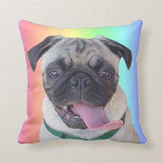 Funny Pug Dog Pillows