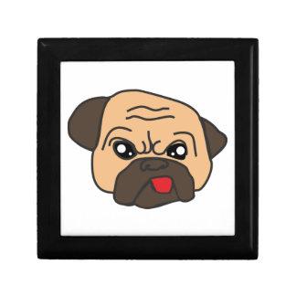 Funny Pug Gift Box