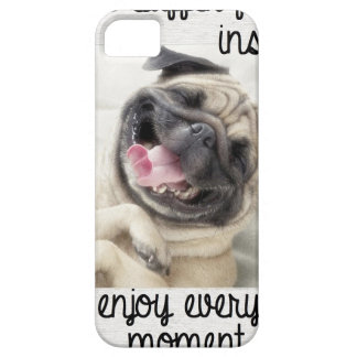 funny pug insanity iPhone 5 cover