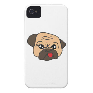 Funny Pug iPhone 4 Covers