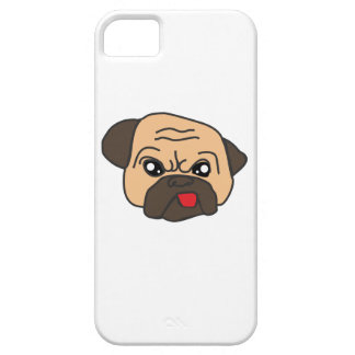 Funny Pug iPhone 5 Cover