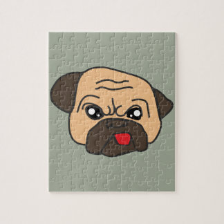 Funny Pug Jigsaw Puzzle