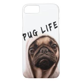 Funny Pug Life 3 iPhone 8/7 Case
