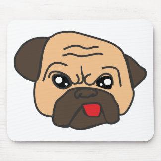 Funny Pug Mouse Pad