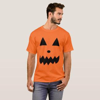 Funny Pumpkin Face T-Shirt Halloween