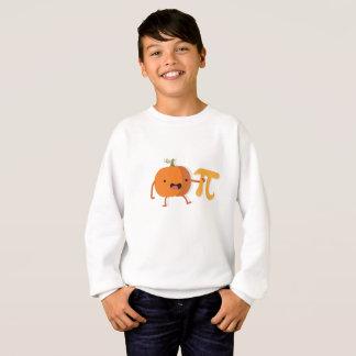 Funny Pumpkin Pi Halloween Thanksgiving Gift Sweatshirt