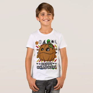 Funny Pumpkin Ugly Sweater Style Happy Halloween