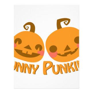 Funny Pumpkins Customized Letterhead