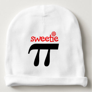 Funny Pun Sweetie Pi Baby Beanie