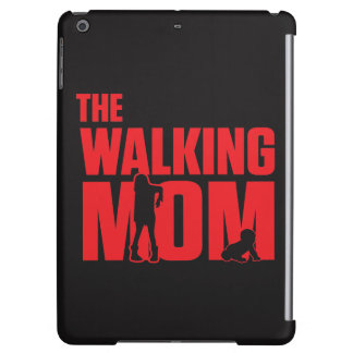 Funny pun the walking mom jokes for halloween iPad air cover