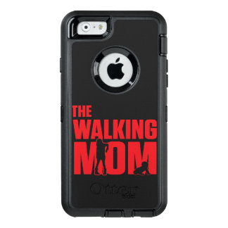 Funny pun the walking mom jokes for halloween OtterBox defender iPhone case