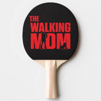 Funny pun the walking mom jokes for halloween ping pong paddle