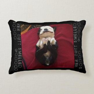 FUNNY PUP SWEET DREAMING POLYESTER T-PILL DECORATIVE PILLOW