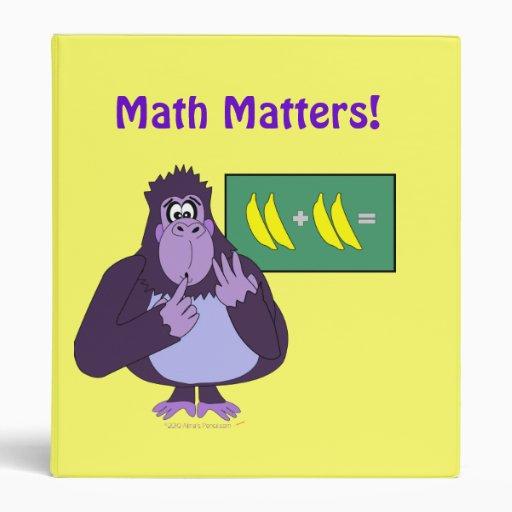 Cartoon Purple Gorilla Funny Purple Counting Gorilla