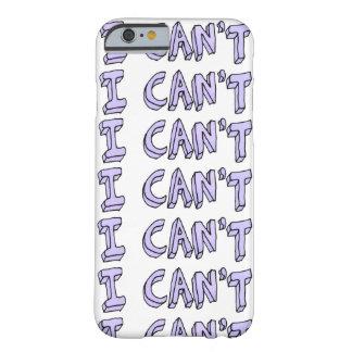 Funny Purple Typography iPhone 6 Case