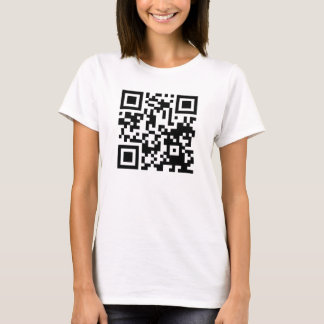 Funny QR code curiosity killed the cat T-Shirt