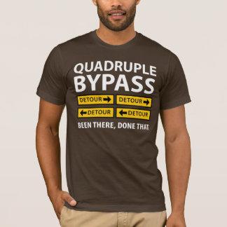 Funny Quadruple Bypass Heart Surgery Survivor T-Shirt