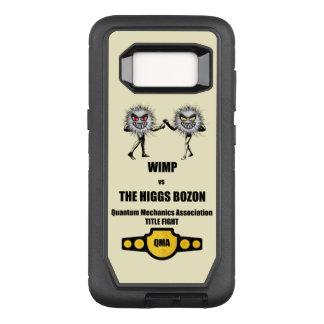 Funny Quantum Mechanics WIMP vs The Higgs Bozon OtterBox Defender Samsung Galaxy S8 Case