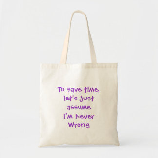 Funny Quote Bag