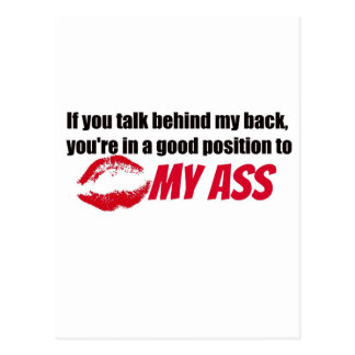Funny Quote Postcard