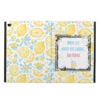 Funny Quote When Life Hands You Lemons, Add Vodka Powis iPad Air 2 Case
