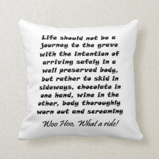 Funny quotes gifts unique humour joke throw throw pillow