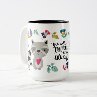 Funny Raccoon Valentine's Day Gift Mugs