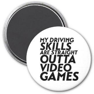 Funny Racing Car Video Games for Nerd Geek Gamer Magnet