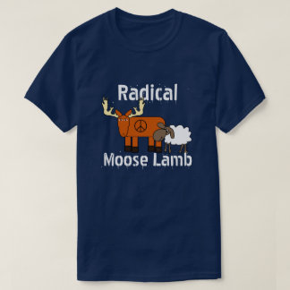 "Funny ""Radical Moose Lamb"" T-Shirt"