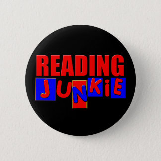funny reading 2 inch round button