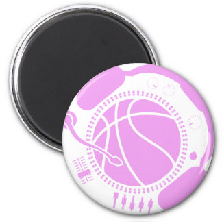 Funny_Record 2 Inch Round Magnet