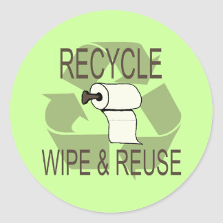 Funny Recycle Stickers