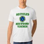 Funny Recycled History Teacher Tshirts