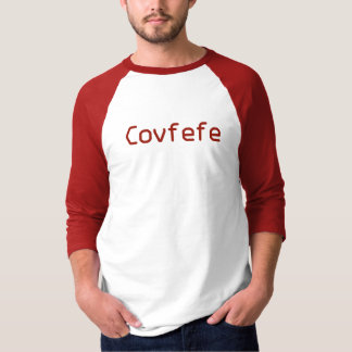 Funny Red Donald Trumps Word Covfefe T-Shirt