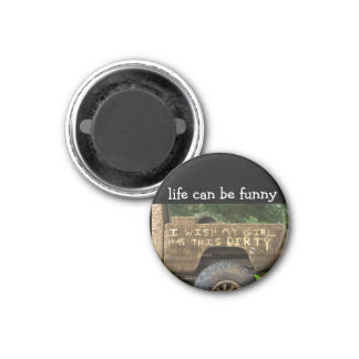 Funny Redneck Humor Dirty Magnets