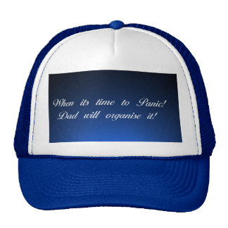 Funny remark for trucker hat