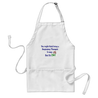 Funny Respiratory Therapy Gifts Apron