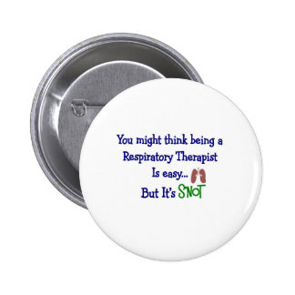 Funny Respiratory Therapy Gifts 2 Inch Round Button