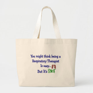 Funny Respiratory Therapy Gifts Jumbo Tote Bag