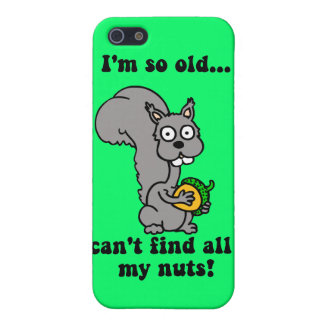 funny retiree cover for iPhone 5/5S