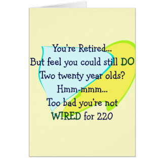 Funny Retirement gifts Cards