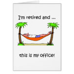 Funny retirement humour greeting cards
