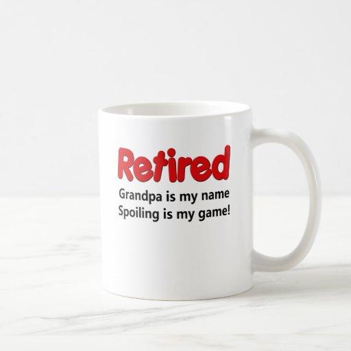 Funny Retirement Saying Mugs