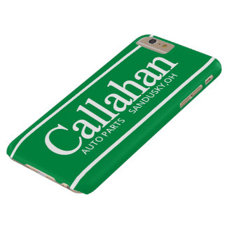Funny Retro Callahan Auto Parts Barely There iPhone 6 Plus Case
