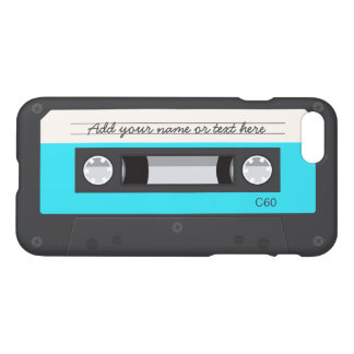 Funny Retro Music Cassette Tape Custom Name iPhone 8/7 Case