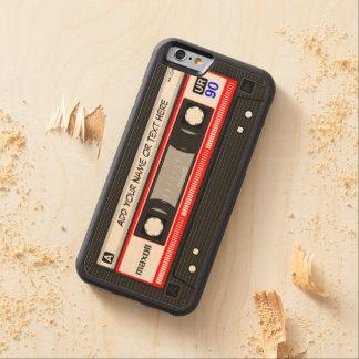 Funny Retro Music Cassette Tape Maple iPhone 6 Bumper Case