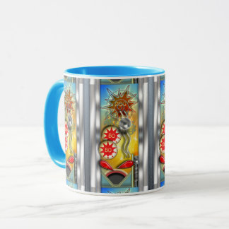 Funny Retro Pinball Machine Mug